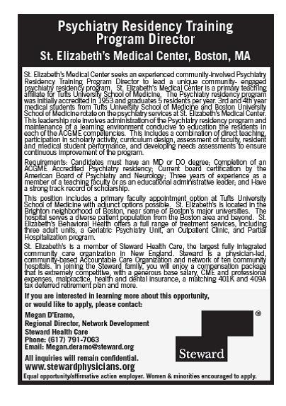 Employment Fulltime – Psychiatrist Job Description